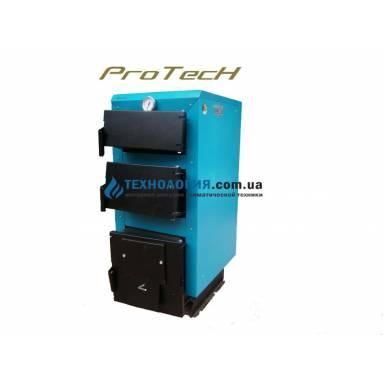 """Твердотопливный котел длительного горения """"ProTech ТТ 15 ЭКО Line,возможность установки турбины и блока управления,охлаждаемые колосники,мощность15 кВт,сталь 4 мм"""