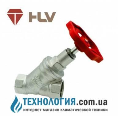 Запорно-регулировочный косой вентиль HLV Avangard 1'' вв
