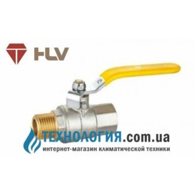 Шаровый кран HLV Gas 1/2'' вн кран ручка
