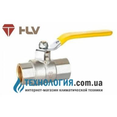 Шаровый кран HLV Gas 1'' вв кран ручка
