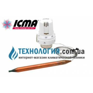 Головка термостатическая с выносным датчиком ICMA