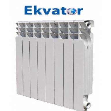 Радиатор биметаллический Ekvator 50/76 с доставкой по Украине