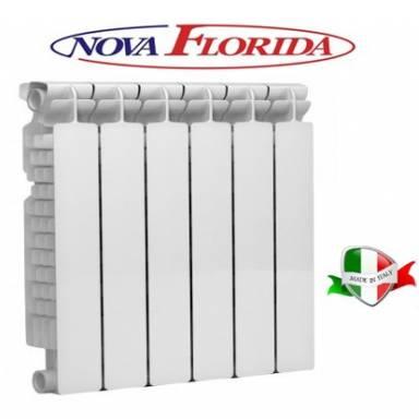 Радиатор алюминиевый NOVA FLORIDA EXTRA THERM SUPER ALETERNUM 500-100 с доставкой по Украине