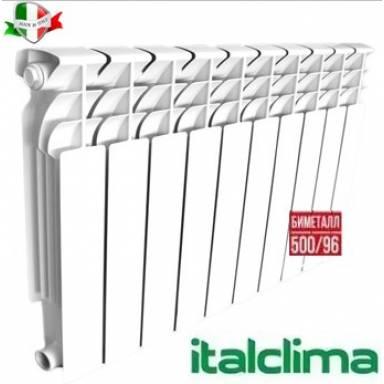 Радиатор биметаллический Italclima 500/96 с доставкой по Украине