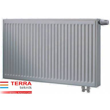 Стальной радиатор  Terra teknik 22 500*1100,тип 22, нижнее подключение, мощность 2000 Вт, двойной