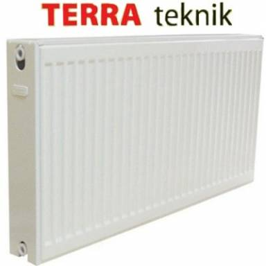 Радиатор стальной Terra teknik 22 500*1100,тип 22, боковое подключение, мощность 2123 вт, двойной