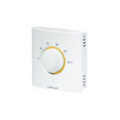 суточный проводной термостат  Salus-rt-10 комнатный с аналоговым  управлением для тёплых пололов