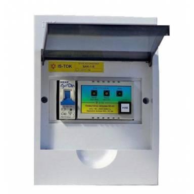 Блок комутационных устройств для однофазных электродных  котлов мощностью до 8 кВт БАК-1-Е