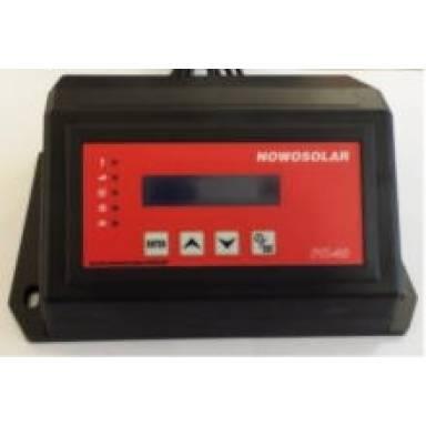 Контроллер NOWOSOLAR PK-40 с возможностью подключения к  турбине устанавливаемых на твёрдотопливные котлы