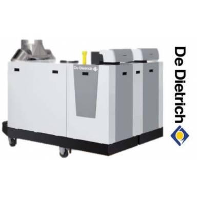 Одноконтурный газовый напольный конденсационный котел De Dietrich C 630-1300 ECO 2 IniControl, 1300 кВт в комплекте с панелью управления
