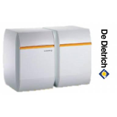 Атмосферный чугунный газовый напольный котел De Dietrich ELITEC DTG 1304 Eco.NOx D / B 150, 18 кВт с водонагревателем