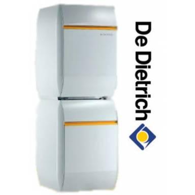 Атмосферный чугунный газовый напольный котел De Dietrich ELITEC DTG 1305 Eco.NOx D / H 150, 24 кВт с водонагревателем