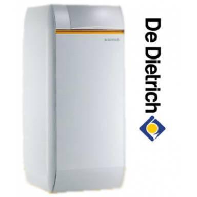 Атмосферный чугунный газовый напольный котел De Dietrich ELITEC DTG 1306 Eco.NOx B / V 130, 30 кВт со встроенным водонагревателем