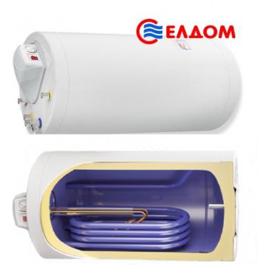 Eldom Green line 120 X  комбинированный електрический водонагреватель 2 кВт дополнительный теплообменник 0.59 m2