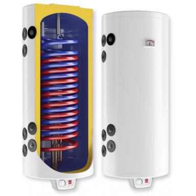 Eldom Green line 150 комбинированный електрический водонагреватель 2 кВт c двуья дополнительными теплообменниками 0.89 m2, 0.3 m2