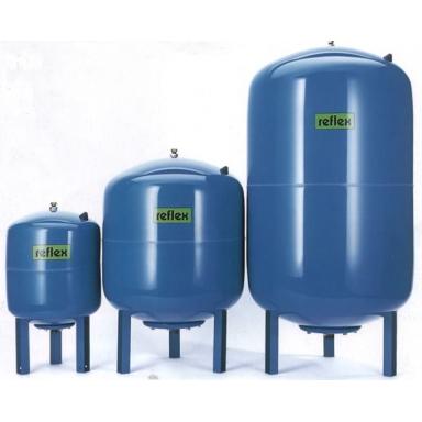Reflx DE12 напольный закрытый расширительный бак для системы отопления цилиндрической формы закрытого типа ёмкость 12 литров