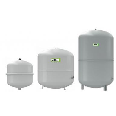 Reflex S100 напольный закрытый расширительный бак для системы отопления цилиндрической формы закрытого типа ёмкость 100 литров