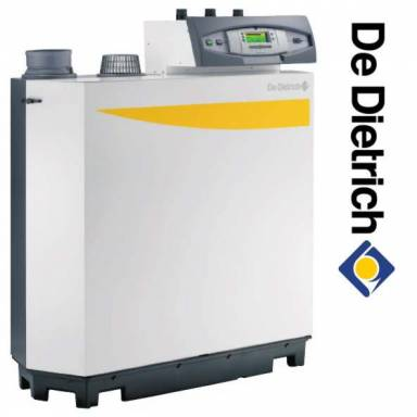 Одноконтурный газовый напольный конденсационный котел De Dietrich C 230-130 ECO, 129 кВт без панели управления