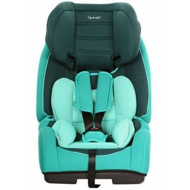 Детское автокресло Bambi цвет бирюзовый, ISOFIX, группа 1-2-3 (9-36кг)