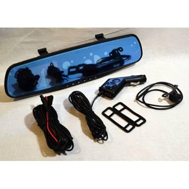 """Регистратор автомобильный Car DVR Real View D201 """"Зеркало"""" 32 Гб"""