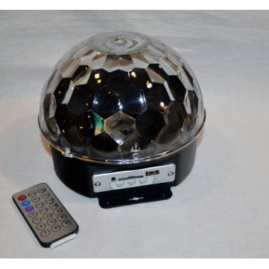 Диско шар с MP3 плеером magic Ball Light