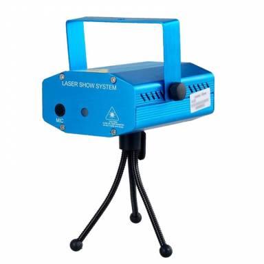Устройство светомузыкальное диско лазер XTQ 077