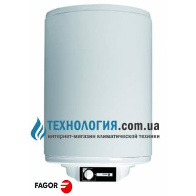 Бойлер Fagor М 100 ЕСО, сухой ТЭН объём, 100 литров, механическое управление