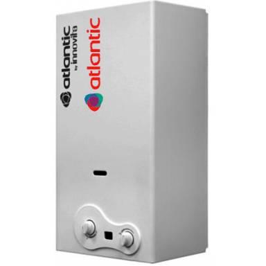 Дымоходный газовый проточный водонагреватель ATLANTIC BY INNOVITA, атмосферная,авторозжиг-от батарейки,11 л/мин,LCD дисплей