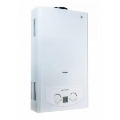 Дымоходный газовый проточный водонагреватель Rocterm ВПГ-10АЕ, атмосферная,авторозжиг,жк дисплей