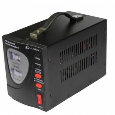 Luxeon E1500 cтабилизатор напряжения 900Вт, 140-260V Двойной стрелочный индикатор входного и выходного напряжения
