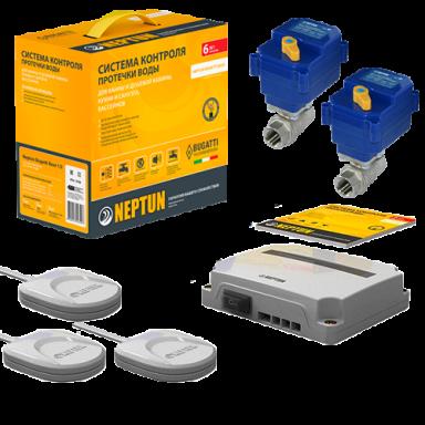 Система контроля протечки воды СКПВ Neptun Bugatti Base 220B 3/4