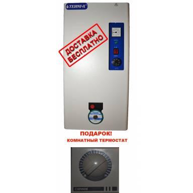 Котёл электрический TEHNI-X премиум 6 квт со встроенным циркуляционным насосом,мощность 6 кВт,220 и 380В