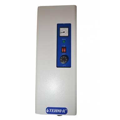 Котёл электрический TEHNI-X Универсал 6 квт ,минимальная комплектация-без насоса,мощность 6 кВт,220 и 380 В,три ступени мощности