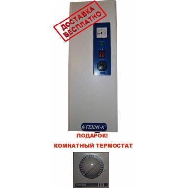 Котёл электрический TEHNI-X Универсал 3 квт ,минимальная комплектация-без насоса,мощность, 3 кВт, 220 Вт,две ступени мощности