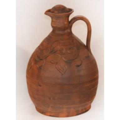 Штоф винный ручной работы обьем 2.5 л арт.0044