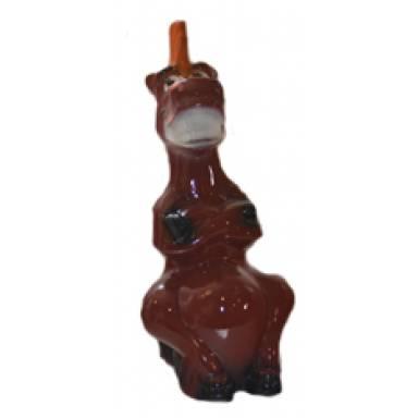 Садовая фигура Конь Юлий высота 33 см глиняная ручной работы