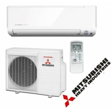 Сплит система инверторного типа Mitsubishi H.I. SRK25ZSPR-S холод/тепло 7-ка фреон R410a