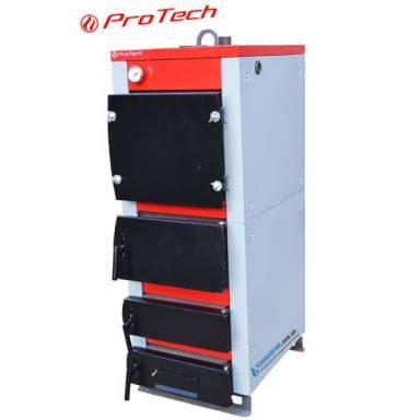 """Твердотопливный промышленный котел длительного горения""""ProTech TT-50 Smart MW"""" мощность50 кВт,програмное электронное управление,охлаждаемые колосники,сталь 6 мм,четырёхканальный,комбинированные колосники"""