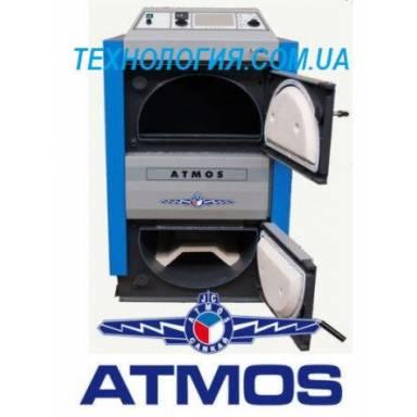 Котел дровяной пиролизный ATMOS DC 25S (25 кВт)