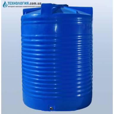 Емкость объемом 12500 литров двухслойная в вертикальном исполнении