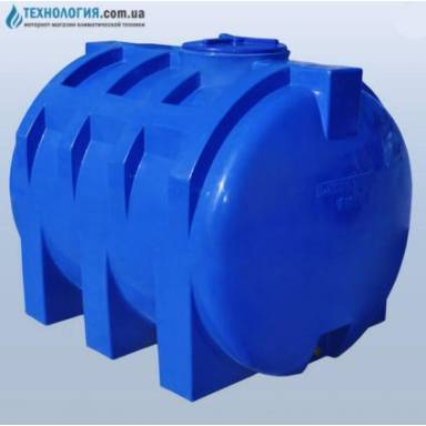 Емкость объемом 1500 литров двухслойная в горизонтальном исполнении