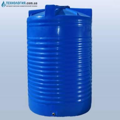 Емкость объемом 17500 литров двухслойная в вертикальном исполнении