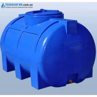 Емкость объемом 350 литров двухслойная в горизонтальном исполнении