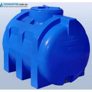 Емкость объемом 500 литров двухслойная в горизонтальном исполнении