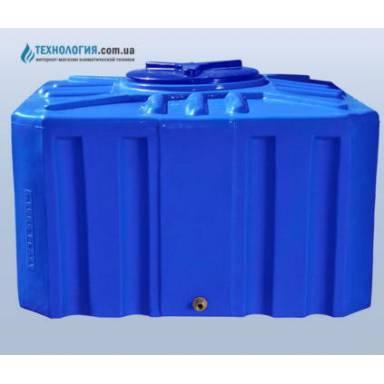 Емкость объемом 500 литров двухслойная в квадратном исполнении