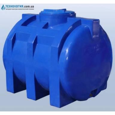 Емкость объемом 750 литров двухслойная в горизонтальном исполнении