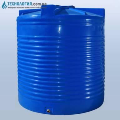 Емкость объемом 7500 литров двухслойная в вертикальном исполнении