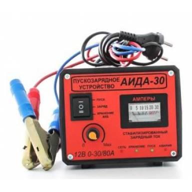 Аида 30 пуско зарядное устройство с стрелочной индикацией