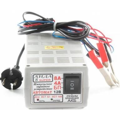 Аида 8 Super зарядное устройство с свето диодной индикацией