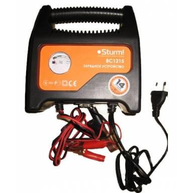 Зарядное устройство STURM BC 1215 (85 Вт, 6/12 В)